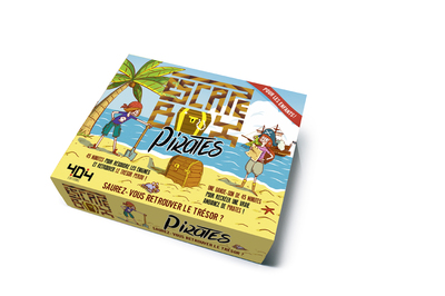 ESCAPE BOX PIRATES - ESCAPE GAME ENFANT DE 2 A 5 JOUEURS - DE 8 A 12 ANS