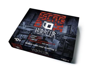 ESCAPE BOX HORREUR - ESCAPE GAME ADULTE DE 3 A 6 JOUEURS - DES 14 ANS ET ADULTE