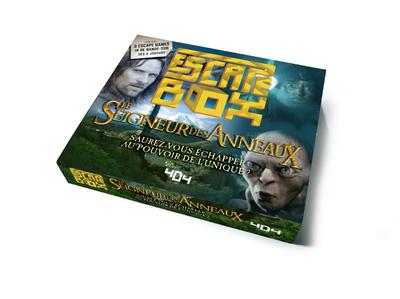 ESCAPE BOX LE SEIGNEUR DES ANNEAUX - ESCAPE GAME OFFICIEL ADULTE DE 3 A 6 JOUEURS - DES 14 ANS ET AD