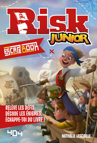 ESCAPE BOOK - RISK JUNIOR